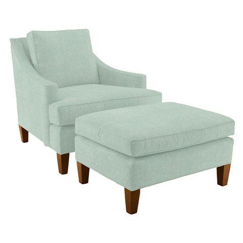 Manchester Chair & Ottoman