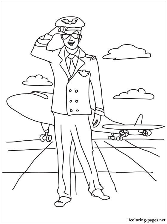 Interesting Occupations Coloring Page Pages Of Different For Occupational Occupation Kids Coloring Pages Color Coloring Sheets For Kids