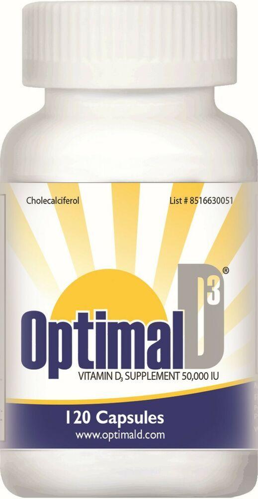 Optimal D3 Vitamin D3 50000 Iu 120 Capsules Exp 02 2021 Free Shipping Rvnutritionalllc In 2020 Capsule Optimization Vitamin D Supplement