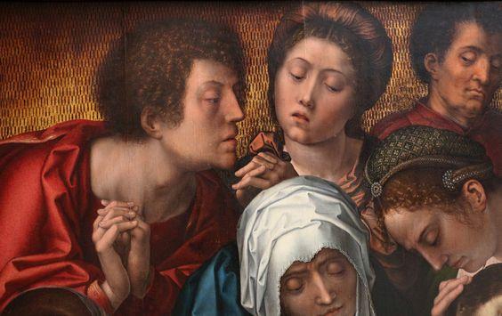 Bernard van Orley (1491 - 1542) - Triptych Haneton. Detail