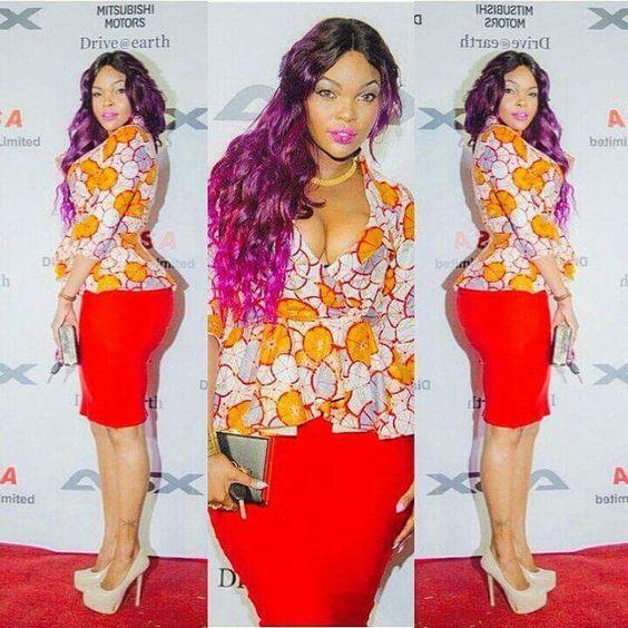 Wema sepetu | African style-fashion: ankara-kitenge-kinte ...