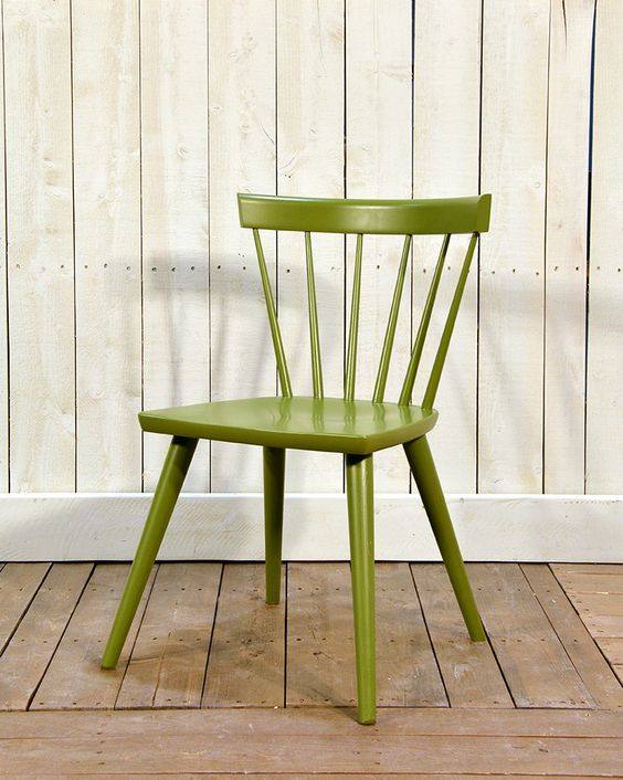 Cottage Life Sticks Chair in Maple Pine - Wooden Painted Chair - Oaksmith Interiors