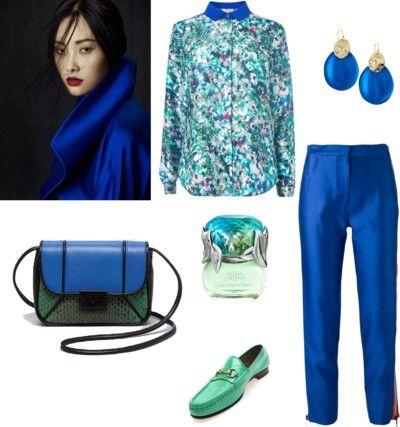 TerraCoquetta: Simple blue & green