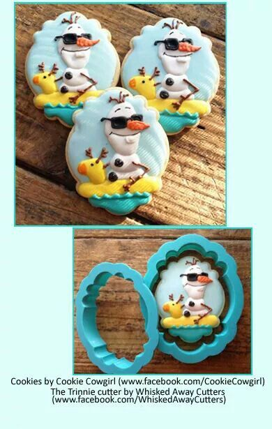 Frozen Olaf Cookie