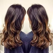 dark brown hair highlight ideas - Google Search