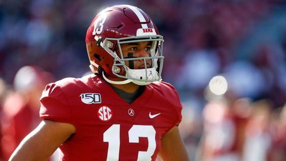 Tua Being Back With Bama Means Everything Alabama Football Helmet Alabama Football Football Helmets
