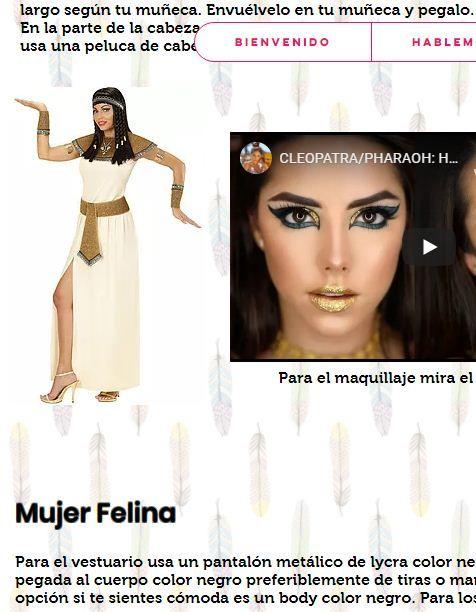 Disfraces Faciles Mujer Disfraz Facil Disfraces Peluca Negra