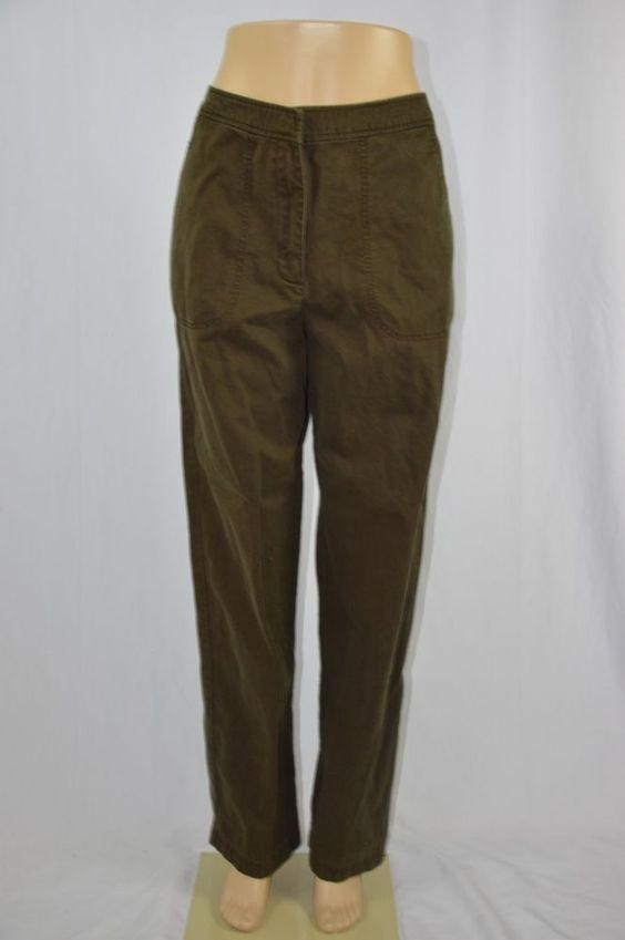 Brown Dress Pants Womens