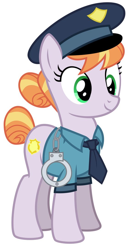 Pony Cop by cheezedoodle96.deviantart.com on @DeviantArt