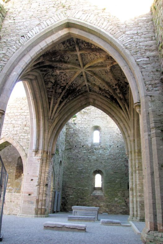 Constructed in 1180, Jerpoint Abbey is now a ruin, as it was destroyed during the dissolution of the monasteries in the late 1530s. The ruins of Jerpoint Abbey have been made tourist friendly with the addition of paths and walkways. #JerpointAbbey #abbey #jerpoint #Ireland #ruin #ruins #abbeyruin #ruinedabbey