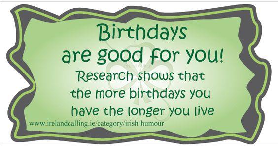 Irish Birthday Wish