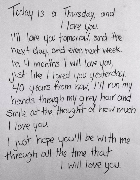 I do hope you'll be with me until that time X