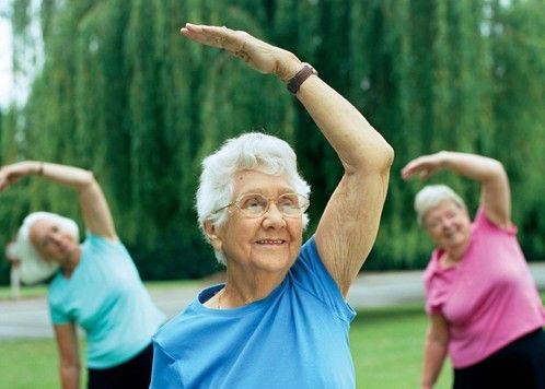 ageing and staying fit