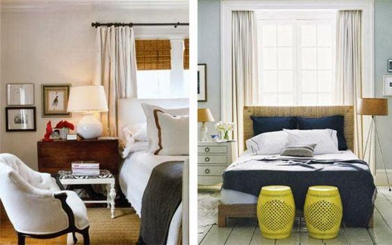 Cabeceira da cama na janela Quarto casal, Quartos e Janela ~ Quarto Casal Janela Cabeceira