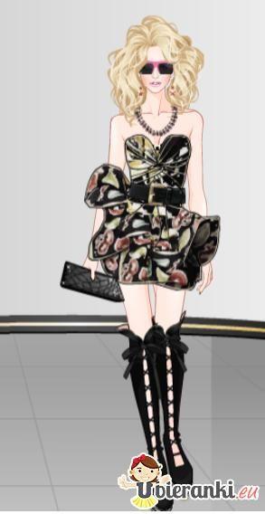 Szałowa stylizacja, której pozazdrościć może nawet Lady Gada!
