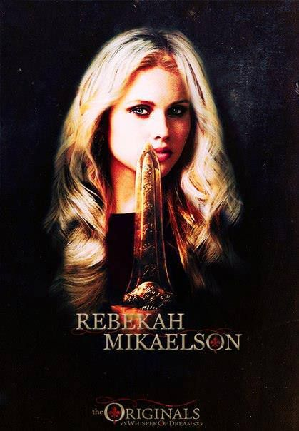 Rebekah Mikaelson. The Vampire Diaries - The Originals ...  Rebekah Mikaels...
