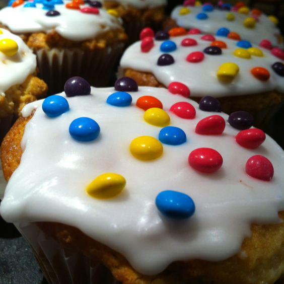 Smartie Muffins