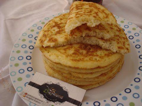 شهيوات ريحانة كمال فطائر المخنفر في المقلاة هشيشة و سهلة التحضير Youtube Food Breakfast Pancakes