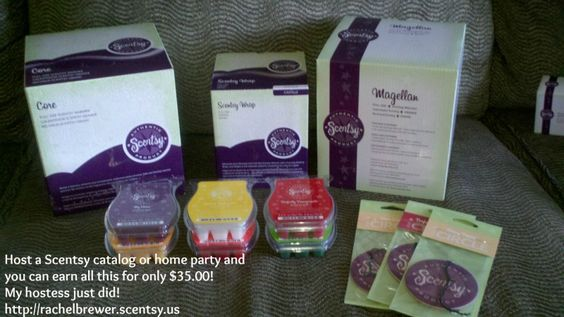 Contact me today to host or join my team! http://rachelbrewer.scentsy.us