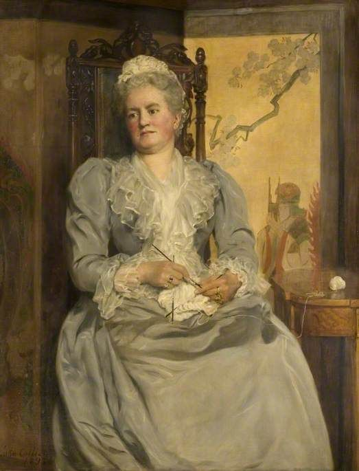 Lady Laing, 1893 - John Maler Collier: