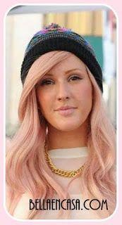 Oro Rosado en el cabello, Fórmulas de color para lograrlo. - Bella en Casa