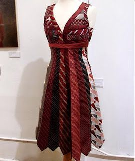 Tie dress! So cute if I ever lose enough weight to look good in something like this.