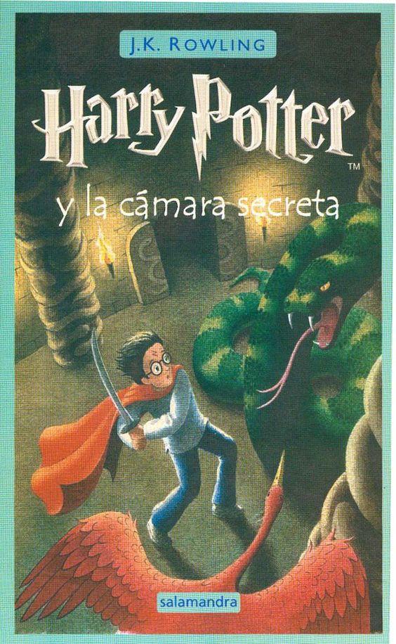 2do Libro de Harry Potter y la cámara secreta - Pasta sencilla. Si me dan esté libro me tienen que dar el primero para tener el seguimiento en la lectura.