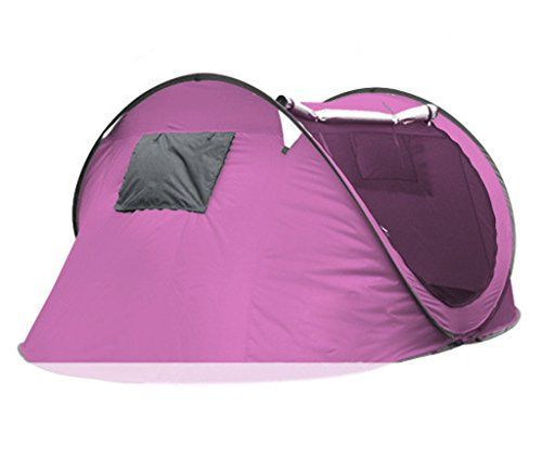34 person Large Automatic Pop Up Family C&ing Tent Easy Fold back Shelter Pink ** Check out the image by visiting the link.(This is an Amazon affu2026  sc 1 st  Pinterest & 34 person Large Automatic Pop Up Family Camping Tent Easy Fold ...