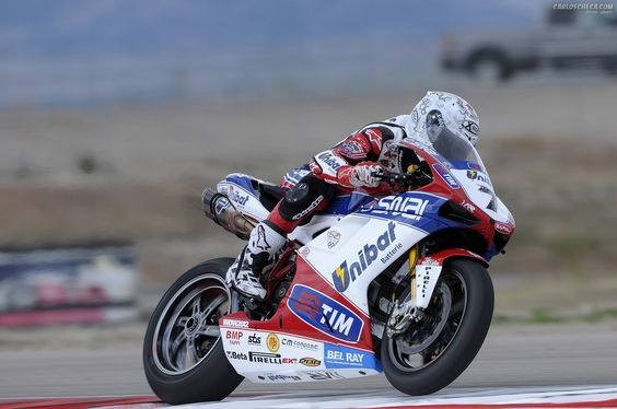 Carlos Checa. Ducati 1098R