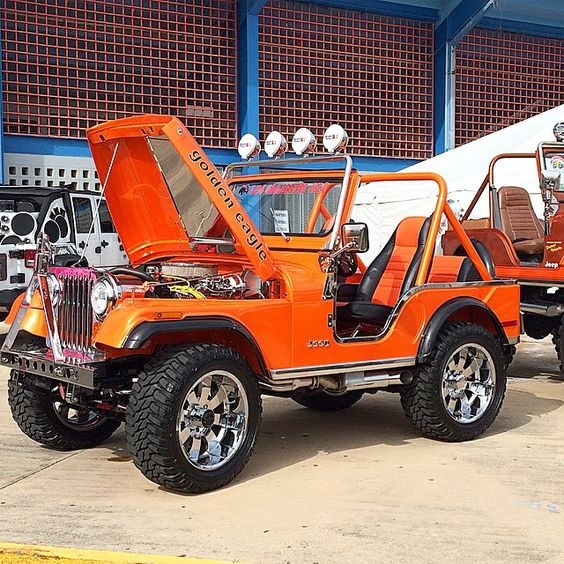 CJ-7 Sweet Orange