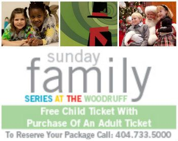 Woodruff Arts Center Holiday Christmas Family Series