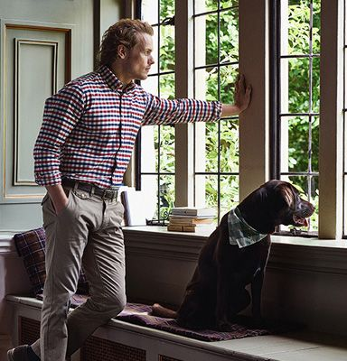 Love this shot for Barbour!