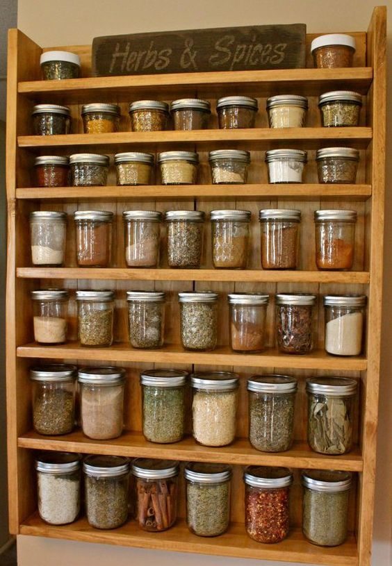 51 Storage Decor To Inspire Today Wall Spice Rack Small Kitchen