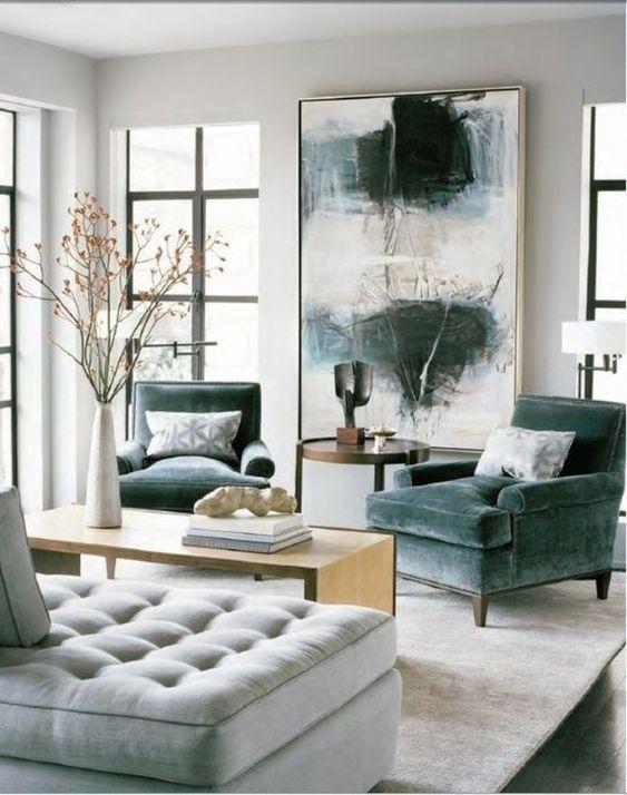 wandgestaltung wohnzimmer modern | wohnzimmer design | pinterest ...