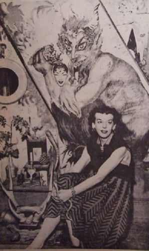 Conversations with Sonia Bible about the Witch of Kings Cross (Part II) - Photo: Rosaleen Norton (1950s) [Courtesy Sonia Bible]