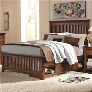 Item Not Found Furniture Slatted Headboard Bed With Underbed
