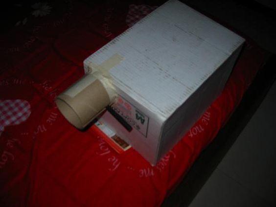 Opaque Projector Diy