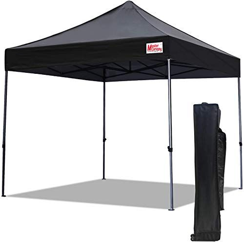 New Mastercanopy Pop Up Canopy Tent 10x10 Commercial Instant Canopies With Heavy Duty Roller Bag Bonus 4 Canopy S In 2020 Pop Up Canopy Tent Canopy Tent Instant Canopy