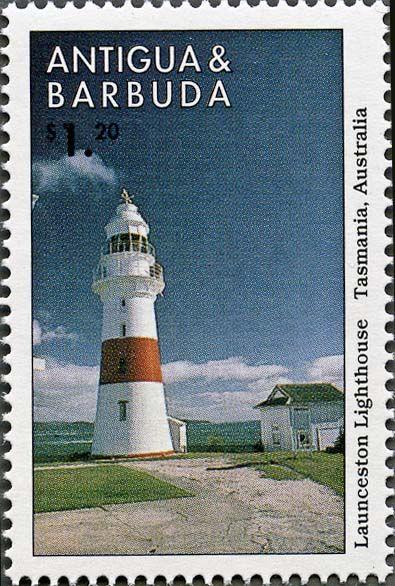 Antigua and Barbuda 1998 Launceston | stampslighthouses.com