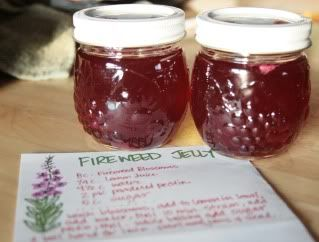 Fireweed jelly... Delicious!! (gotta remember to pick the blossoms if I ever go to Alaska!)