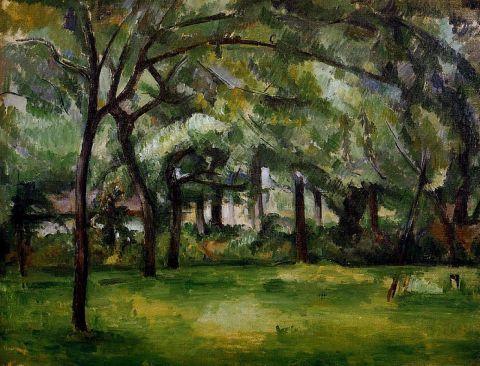 paul cezanne, Gospodarstwa rolne, Mills, gospodarstwo latem Normandia 1882