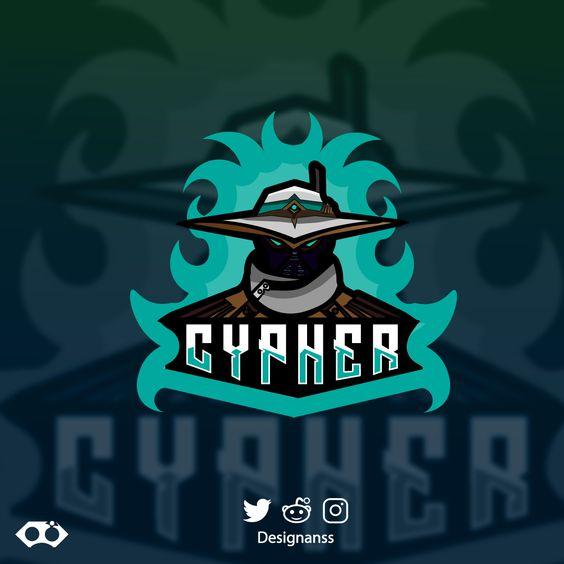 Esport Logo Cypher From Valorant League Of Legends Logo Logos Print Artist