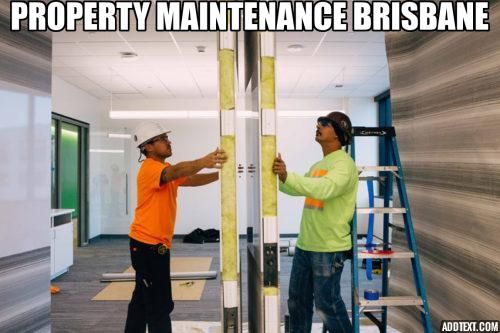 Property Maintenance Brisbane Brisbane Building Maintenance Property Management