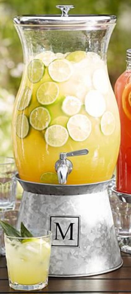 Galvanized Metal Drink Dispenser