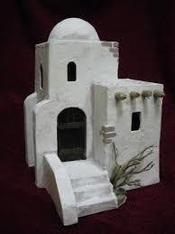 Resultado de imagen para casas para belenes casas para - Casitas para pesebre de carton ...