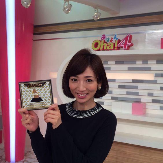内田敦子oha4スタジオで笑顔画像