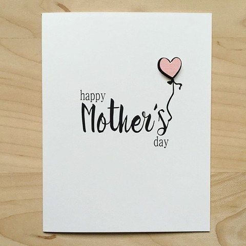 Happy Mothers Day Card Template In 2020 Mothers Day Card Template Happy Mother S Day Card Birthday Cards For Mom