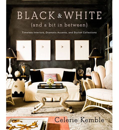 <em>Black & White (and a Bit in Between): Timeless Interiors, Dramatic Accents, and Stylish Collections</em>: