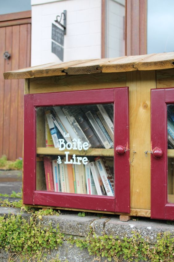 Boîte à livres Jambes 3