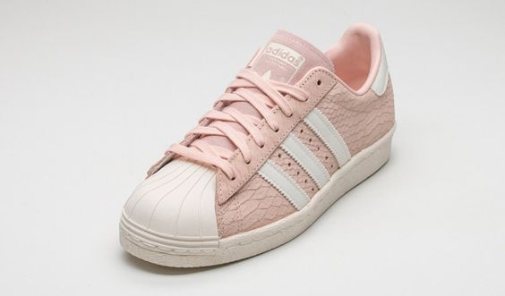 Adidas Superstar Hellrosa